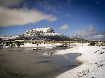 Mountains Photograph - Overland Track by Tim Hester