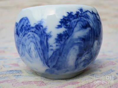 Painting On Ceramic Art Print