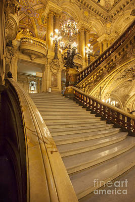 Palais Garnier Interior Art Print