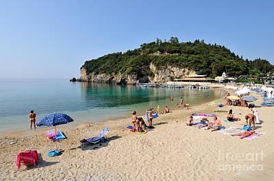 Photograph - Paleokastritsa Beach by George Atsametakis