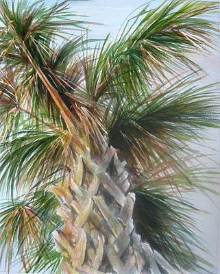 Painting - Palmetto 2011 by Gloria Turner