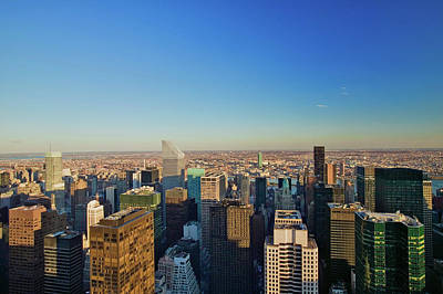 Panoramic Views Of New York City Art Print