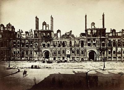 Photograph - Paris, 1872 by Granger