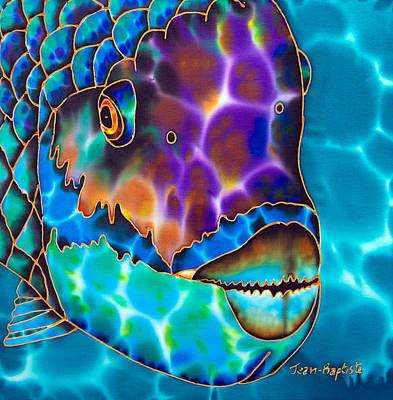 Parrotfish Art Print