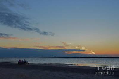 Photograph - Pastel Sunset On Edisto Island by Bob Sample