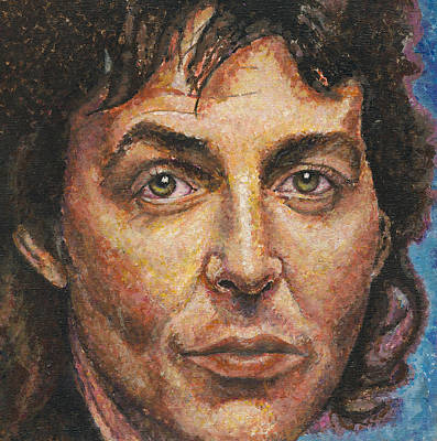 Painting - Paul Mccartney by Melinda Saminski