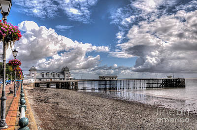 Penarth Pier 3 Art Print