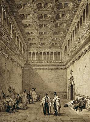 Arabian Attire Photograph - Perez Villaamil, Jenaro 1807-1854 by Everett