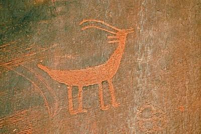 Petroglyphs Art Print by Bildagentur-online/mcphoto-schulz