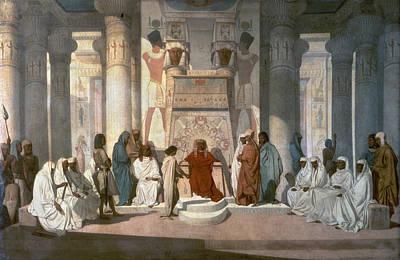 Jean Adrien Guignet Painting - Pharaoh's Dream by Granger