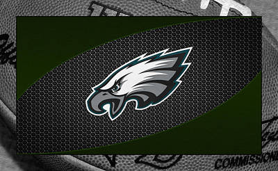 Philadelphia Eagles Art Print by Joe Hamilton