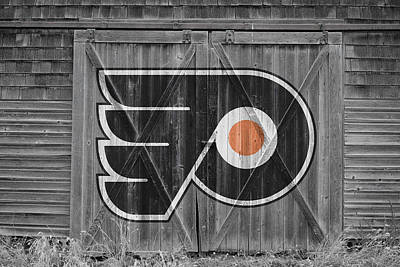 Photograph - Philadelphia Flyers by Joe Hamilton