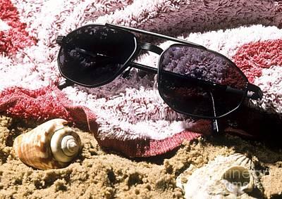 Photochromatic Sunglasses Art Print by Martyn F. Chillmaid
