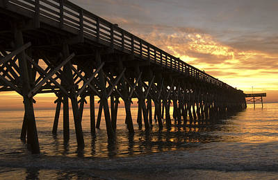 Photograph - Pier Myrtle Beach Sc by Bob Pardue