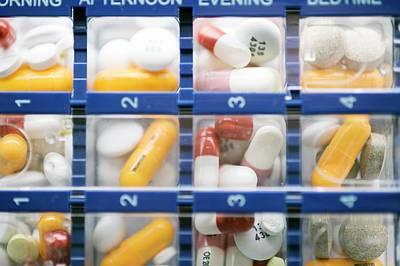 Pill Organiser Art Print