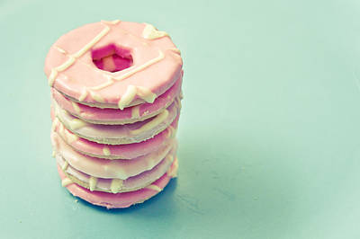 Pink Cookies Art Print by Tom Gowanlock