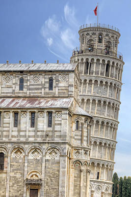 Leaning Photograph - Pisa by Joana Kruse