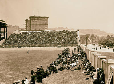 Pittsburgh's Forbes Field 1910s Art Print by Mountain Dreams