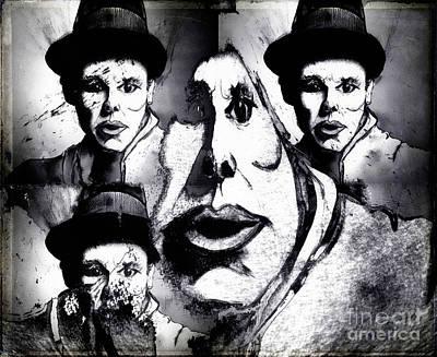 Joseph Beuys Painting - 3 Plus 1 Experiment by Nicole Philippi