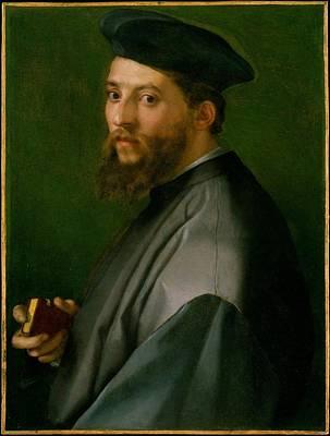 Sarto Painting - Portrait Of A Man by Andrea del Sarto