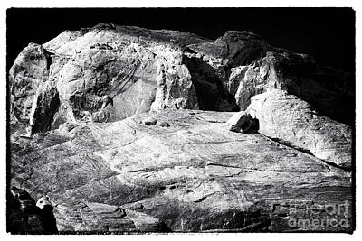 Photograph - Portrait Of A Rock by John Rizzuto