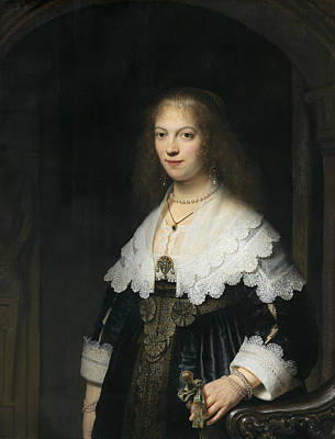 Painting - Portrait Of A Woman by Celestial Images