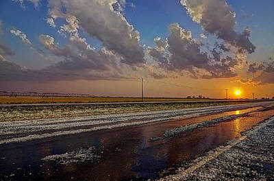 Photograph - Post Hail Paradise by Zach  Roberts