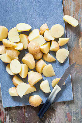 Potatoes Art Print by Tom Gowanlock