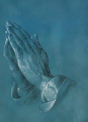 Praying Hands Art Print