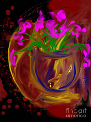 Painting - Pretty In Pink by Karen Day-Vath