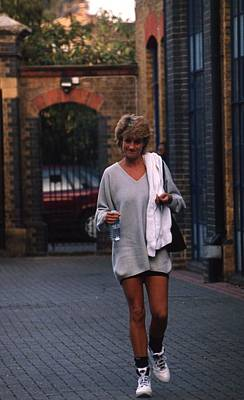 Princes Photograph - Princess Diana by Retro Images Archive