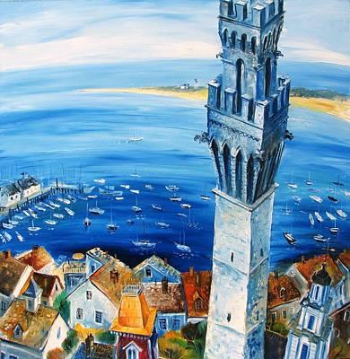 Provincetown Harbor Art Print
