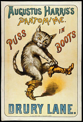 Puss Photograph - Puss In Boots by British Library