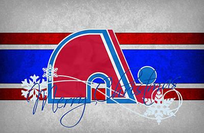 Hockey Photograph - Quebec Nordiques by Joe Hamilton