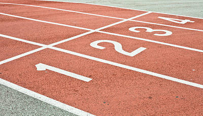 Asphalt Photograph - Racing Track by Tom Gowanlock