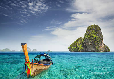 Phuket Photograph - Railay Beach by Anek Suwannaphoom
