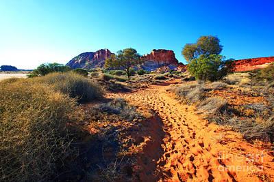 Northern Territory Photograph - Rainbow Valley Sunrise by Bill  Robinson