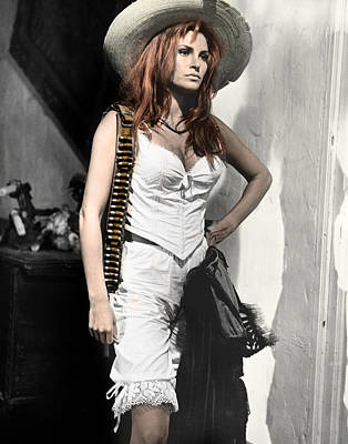 Sex Symbol Photograph - Raquel Welch by Retro Images Archive