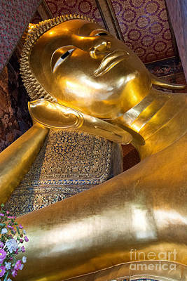 Photograph - Reclining Buddha by Yew Kwang