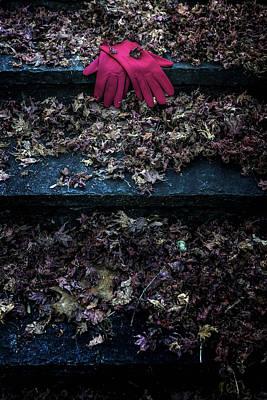 Red Gloves Art Print