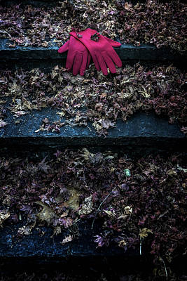 Red Gloves Art Print by Joana Kruse