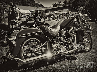 Photograph - Red Harley by Wilma  Birdwell