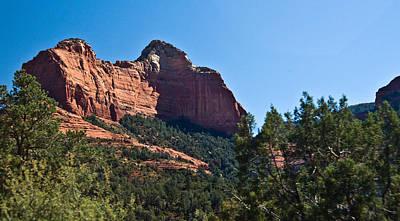 Vintage Automobiles - Red Rock Formation Sedona Arizona 28 by Douglas Barnett