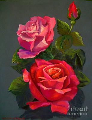 Painting - 3 Reds by Susan M Fleischer