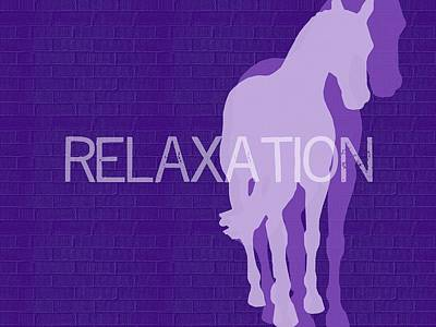 Photograph - Relaxation Negative by JAMART Photography