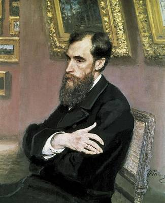Pavel Photograph - Repin, Ilya Yefimovich 1844-1930 by Everett