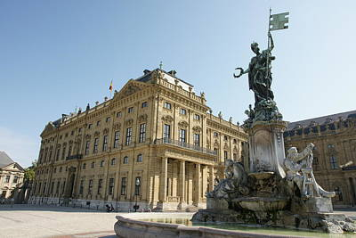 Photograph - Residenz Wurzburg  by Christian Zesewitz