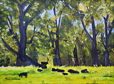 Resting Art Print by Terry Anderson