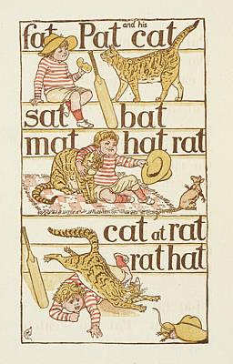 Rhyming Words Ending In The Letter T Art Print