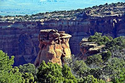 Photograph - Rim Rock Colorado by Randy J Heath